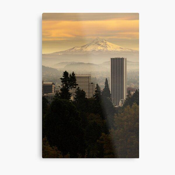 The best Hood in Portland Metal Print