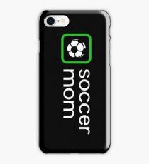 Soccer Mom (Green) iPhone Case/Skin