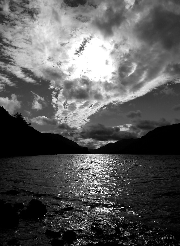 Sunset over Loch Voil by kufwit