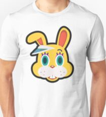 ZIPPER T BUNNY ANIMAL CROSSING Unisex T-Shirt