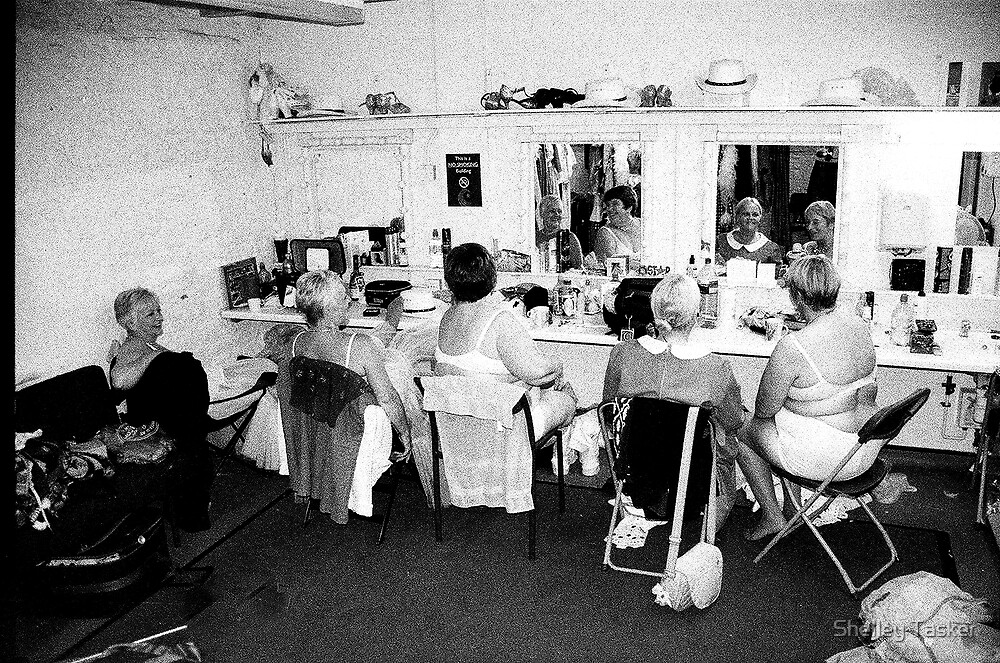 Real Women Relaxed before the show by Shelley Tasker