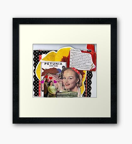 A Day In June Framed Print