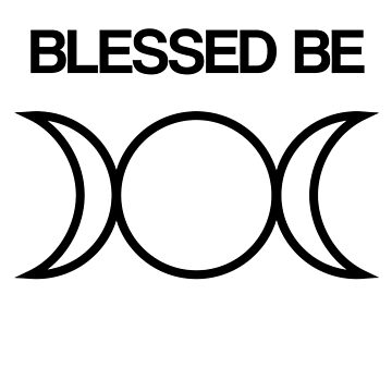 Blessed Be Pagan Wiccan  by HappyThreads