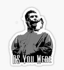 As you were Sticker