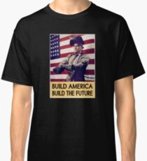Patriotic Vintage Welder Classic T-Shirt