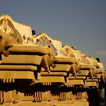Gaudì's Lions by gaius27