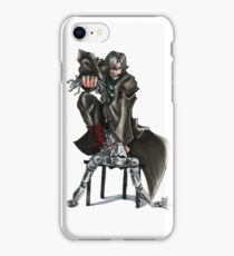 Sci Fi Android Battle iPhone Case/Skin