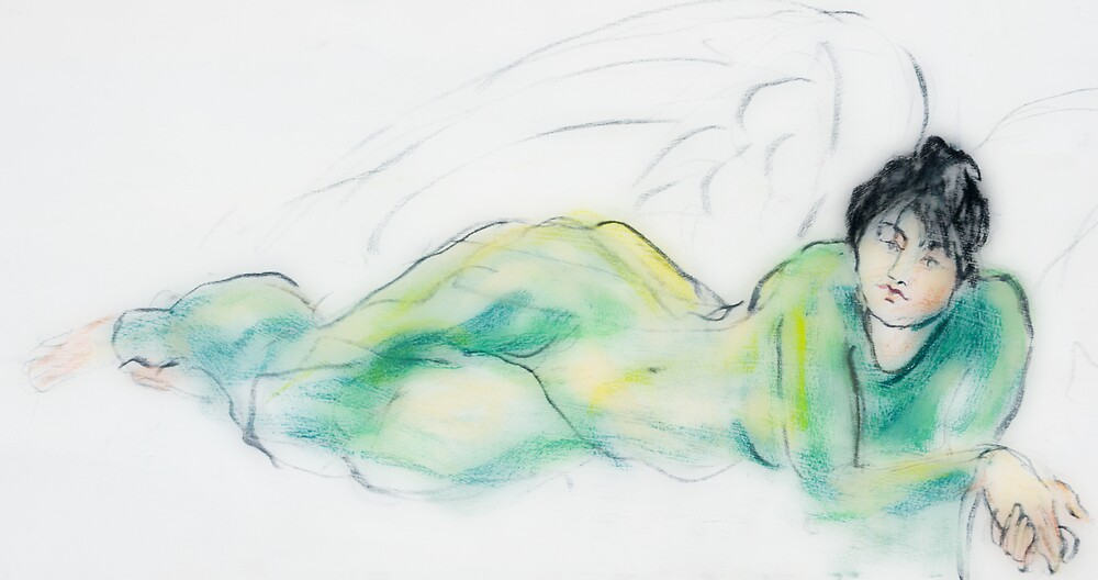green angel by bluerabbit