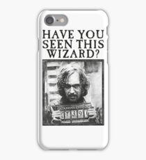 WANTED - Sirius Black  iPhone Case/Skin