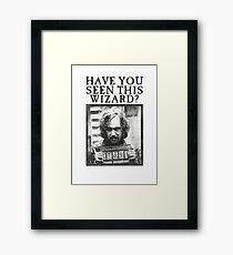 WANTED - Sirius Black  Framed Print