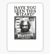 WANTED - Sirius Black  Sticker