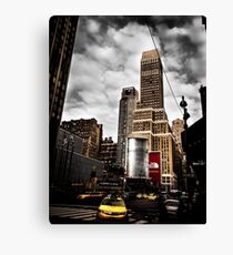In The Streets Of New York City | NYC, New York, Manhattan Canvas Print