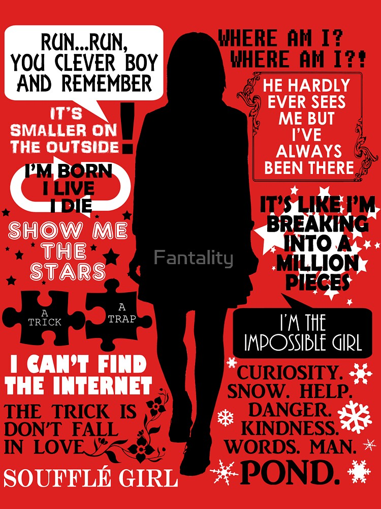 Doctor Who - Clara (Oswin) Oswald Quotes | Women's T-Shirt