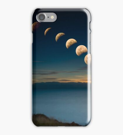 Lunar Eclipse Townsville iPhone Case/Skin