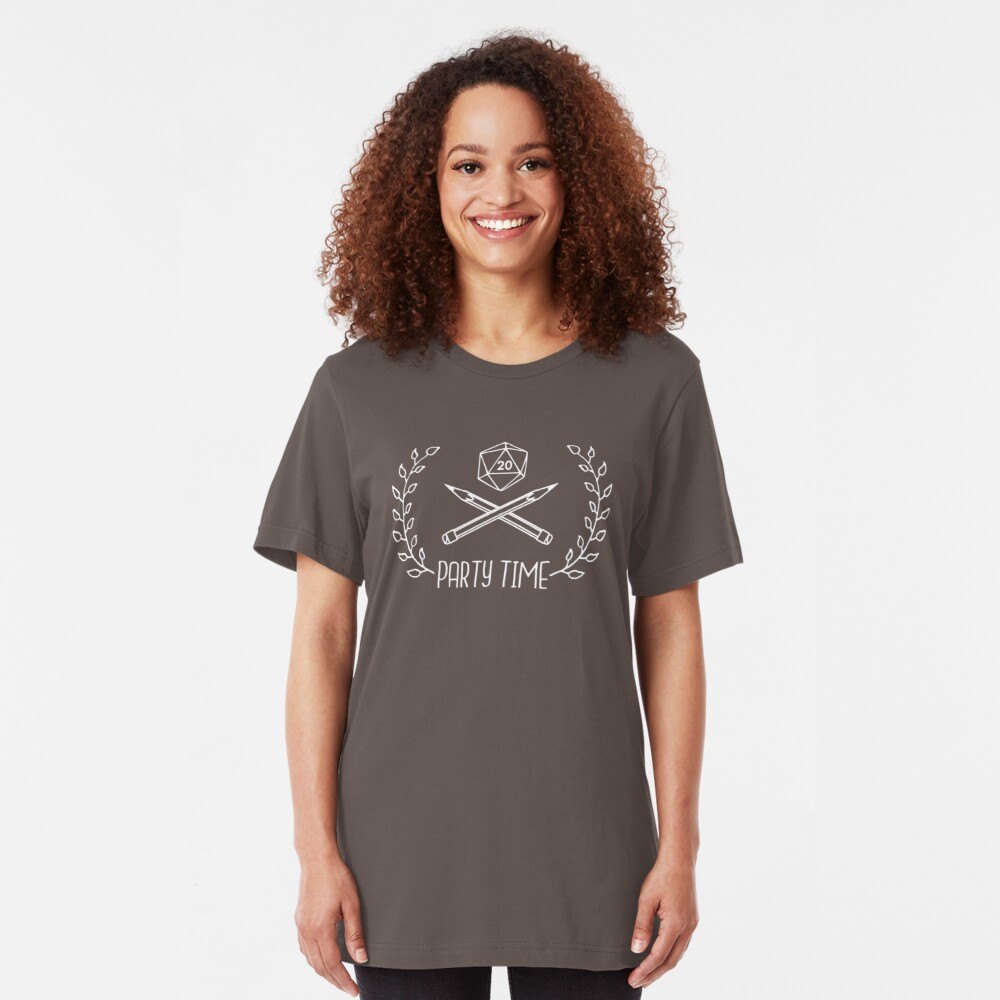 RPG Party Time Slim Fit T-Shirt