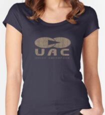 UAC Logo (original) Women's Fitted Scoop T-Shirt