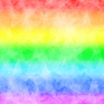 Crinkled Bright Rainbow Paper by bluelily01