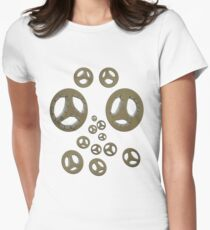 Even more little faces... Womens Fitted T-Shirt