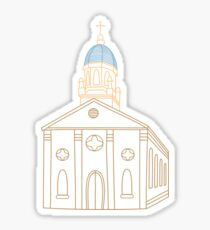 university of dayton chapel [color] Sticker