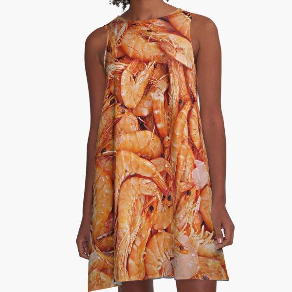 I LOVE SHRIMP A-Line Dress