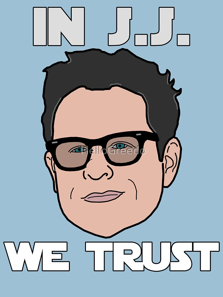 TShirtGifter presents: In J.J. We Trust - Bobble Head | Unisex T-Shirt