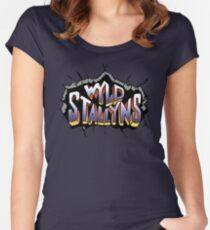 Wyld Stallyns Women's Fitted Scoop T-Shirt