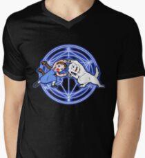 Fullmetal Fusion Ha! ver.4 Men's V-Neck T-Shirt