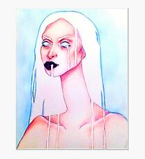Milk - Coloured Pencil Photographic Print