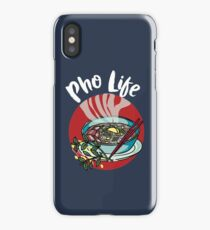 Pho life - Vietnamese noodle soup asian beef food iPhone Case