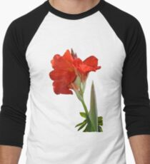 Canna Lili Men's Baseball ¾ T-Shirt