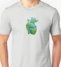 Anatomically Correct Rainforest Heart Unisex T-Shirt