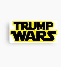 TRUMP WARS Canvas Print