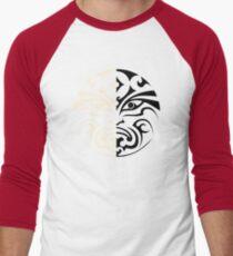 House of Black and White Men's Baseball ¾ T-Shirt