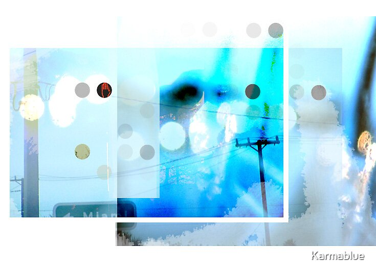 Random Blue by Karmablue