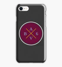 Aston Villa - B6 Badge iPhone Case/Skin