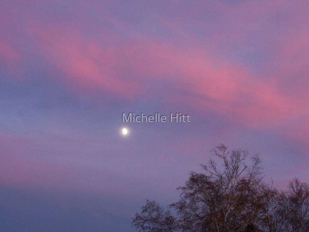 With the Moon by Michelle Hitt