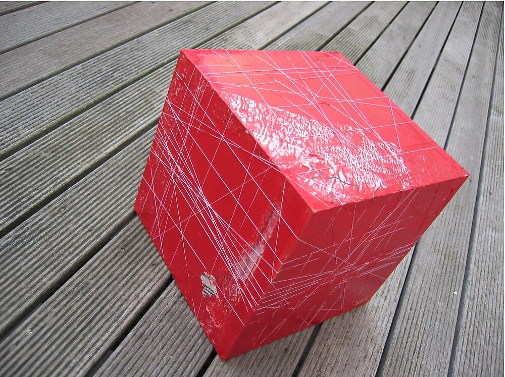 Threaded Cube by Boof