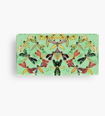 Dragonflies Mash-up 1 Canvas Print