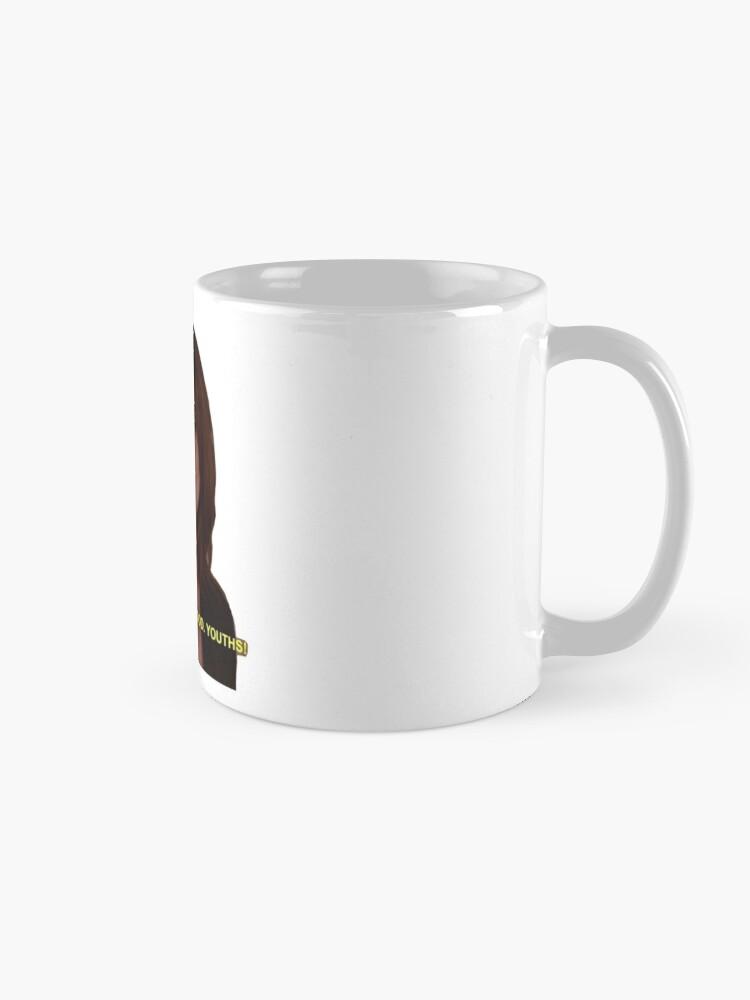 Alternate view of oh god, youths! Mug