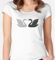 House Swann Women's Fitted Scoop T-Shirt