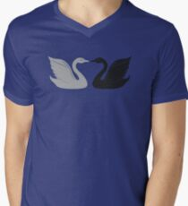 House Swann Mens V-Neck T-Shirt