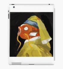 Magikarp with the pearl earring iPad Case/Skin