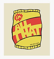 ALL THAT! Photographic Print