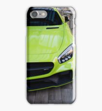 Lime Green German Beast iPhone Case/Skin