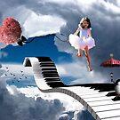 Free Falling.... by Karen  Helgesen
