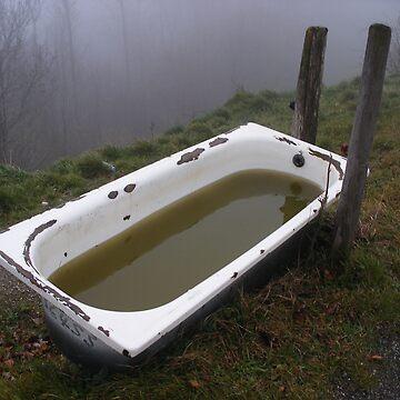 Bathtub in the Wilderness by Alchemistress