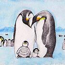 Family Penguin Love by Marysue128