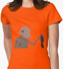 We keeps their secrets and our silence, sir.  Womens Fitted T-Shirt