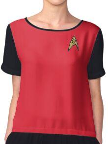 Star Trek Cosplay Vintage Chiffon Top