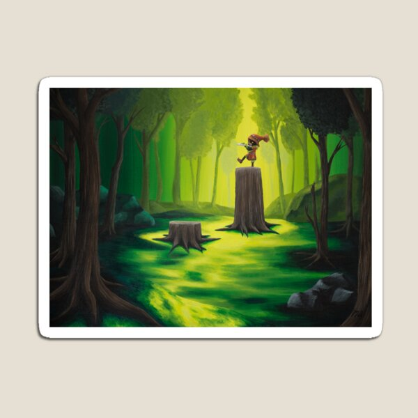 Lost Woods Magnet